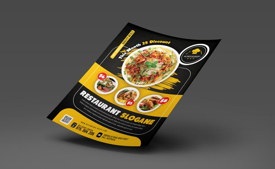 Restaurant Flyer - product preview 2