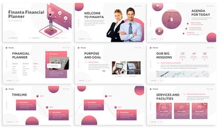 Thumbnail for Finanta - Financial Planner Google Slides Template