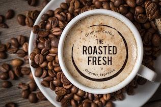 Thumbnail for 15 Modern Coffee  Logo & Label