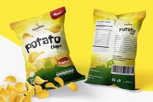 Thumbnail für Clean Snack VerpackungsVorlage