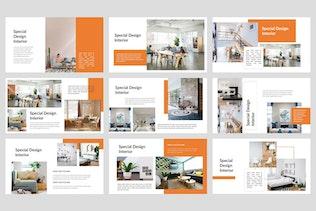 Thumbnail for Catalog - Furniture Keynote Template