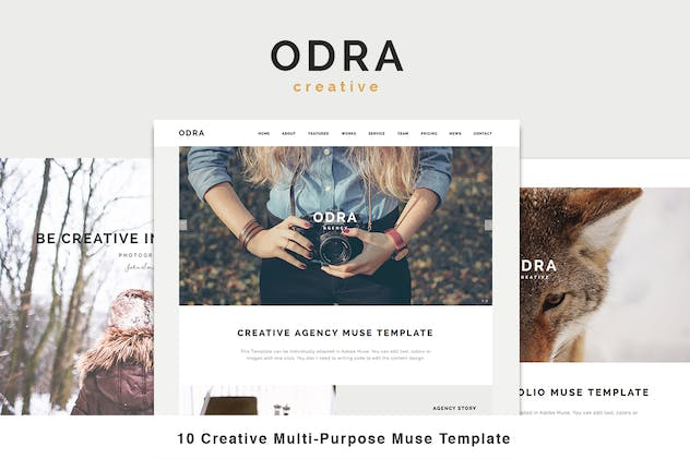 ODRA - 10 Creative Muse Templates Multi-Purpose - product preview 0