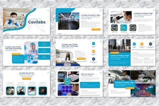 Covilabs - Covid Medical Googleslide Template