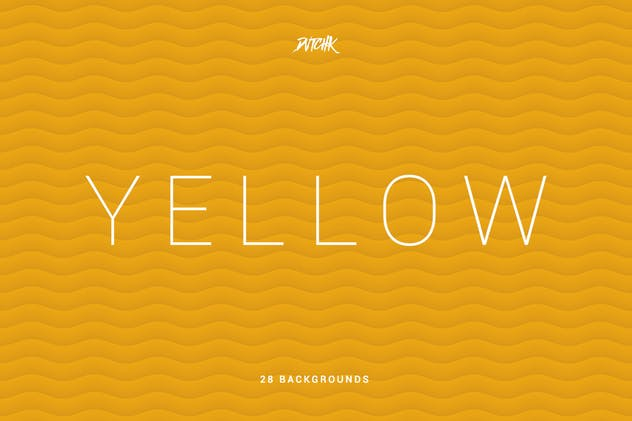 Yellow | Soft Abstract Wavy Backgrounds - product preview 1
