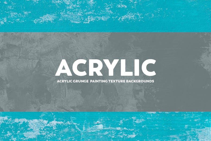 Acrylic Grunge Painting Texture Backgrounds - product preview 1