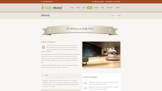 Thumbnail for Bella Motel - Restaurant & Bakery Responsive HTML