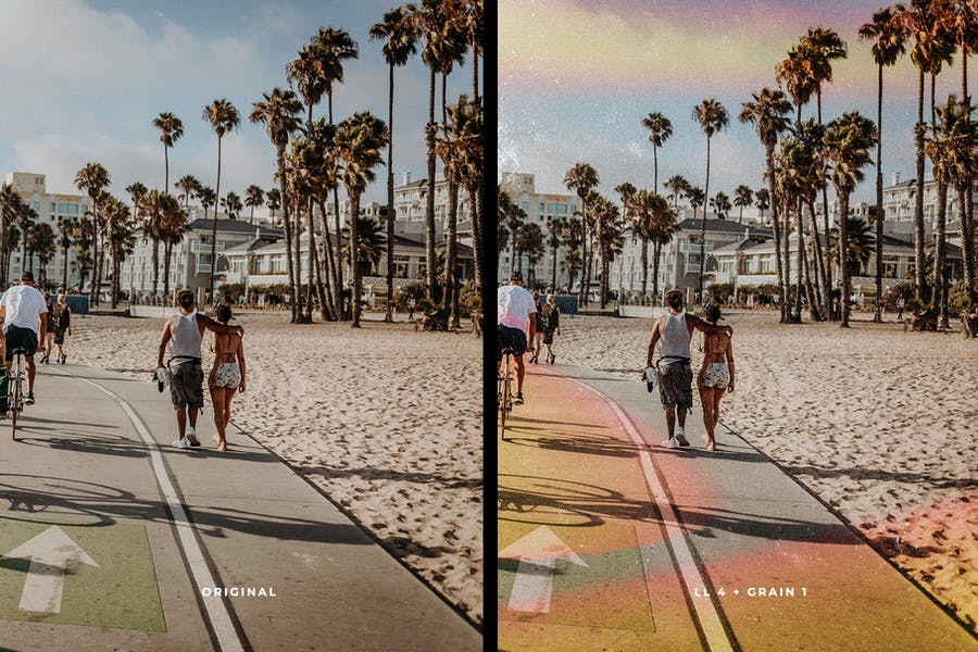 Light Leaks & Film Overlays Grain - product preview 2