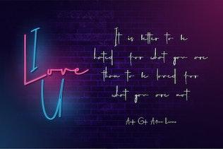 Carlantans - Font Signature élégante