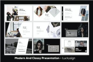 Миниатюра для Hypebeast Business Powerpoint - LS