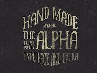 alpha rough & Extras