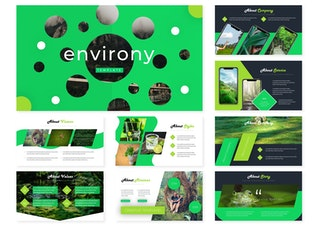 Thumbnail for Environy | Powerpoint Template