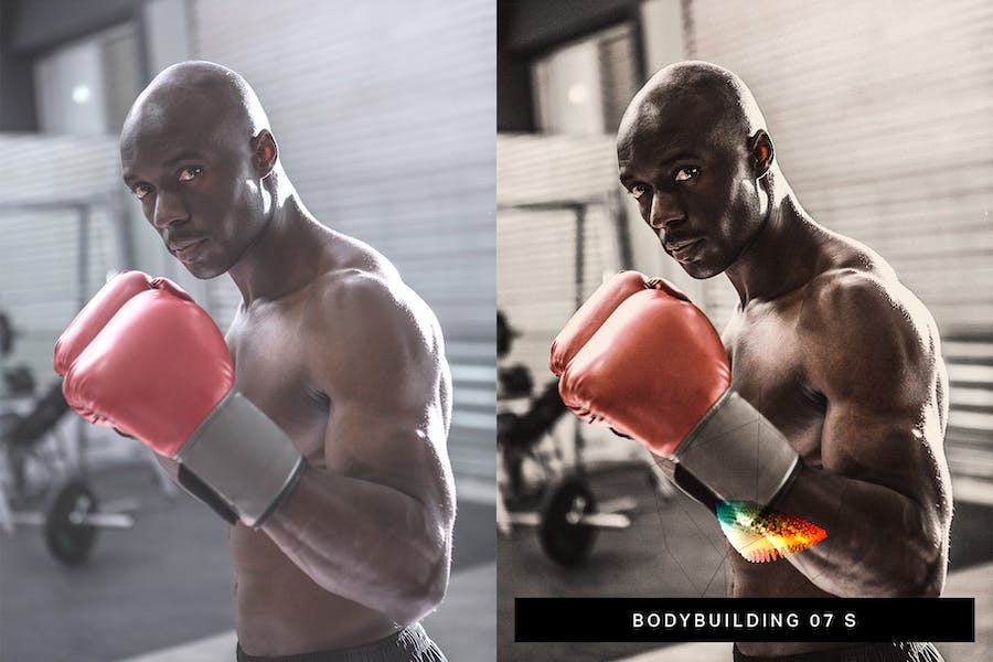 40 Fitness Lightroom Presets and LUTs - product preview 1