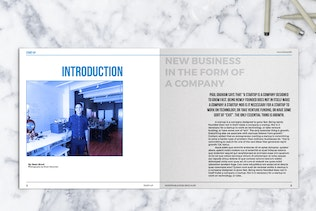 Thumbnail for Square Business Brochure