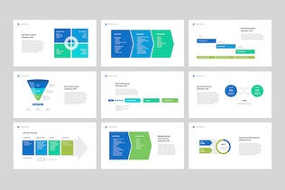 Thumbnail for Marketing and Sales KPI for PowerPoint