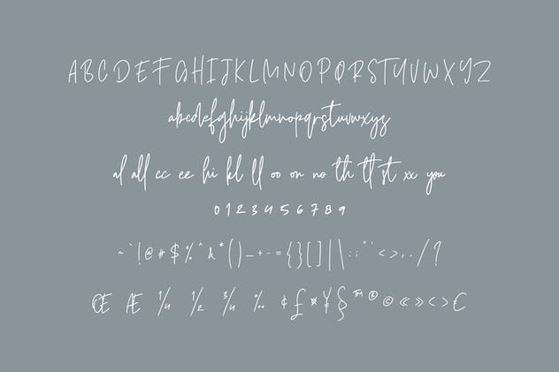 Castallier Signature Script Font