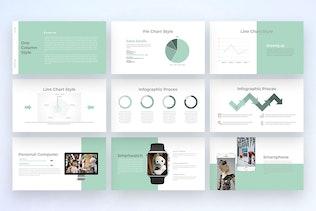 Миниатюра для Роботизированная - Многоцелевая презентация PowerPoint