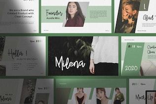 Thumbnail for Milena Creative Powerpoint