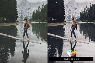 Thumbnail for 50 Retrovibe Lightroom Presets and LUTs