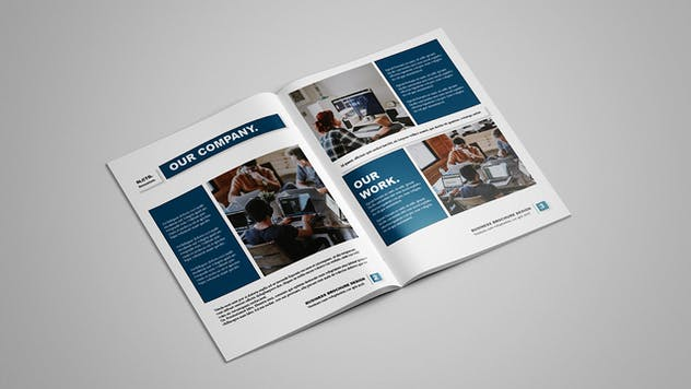 Selected - Business Brochure 12 pages - product preview 2