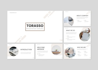 Thumbnail for Torasso - Power Point Template