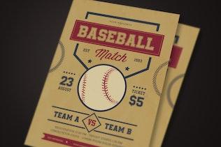 Baseball match Flyer