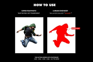Thumbnail for Destruction Photoshop Action - Explosion Effect