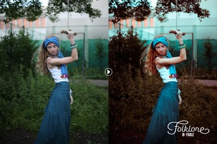 Thumbnail for Folklore Lightroom Presets