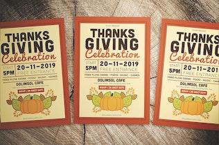 Thumbnail for Thanksgiving Celebration Flyer