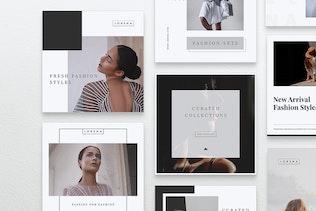 Thumbnail for LORENA Fashion Instagram & Facebook Post