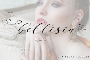Miniatura para Brainlove - Caligrafía Moderno hermosa