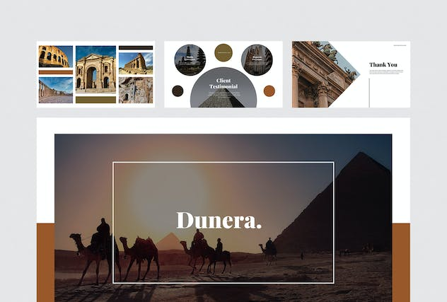 Dunera - Museum Google Slides Template - product preview 6