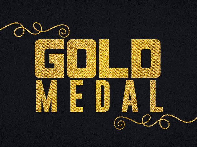 Gold Text Effects 1 - product preview 8