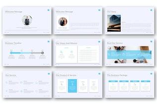 Миниатюра для Бизнес-пакет — Творческий бизнес-PowerPoint