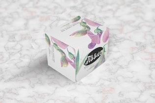 Thumbnail for Square Tissue Box Mockup