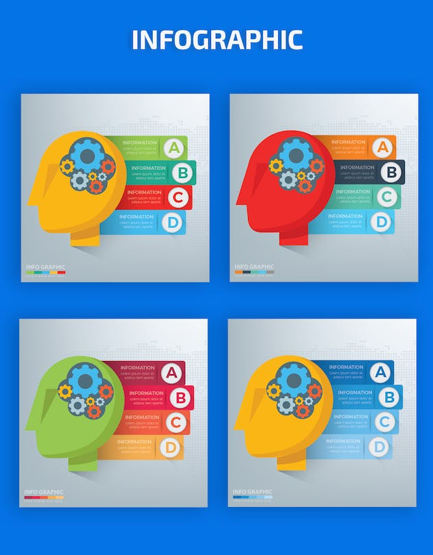 Idea Infographics Design - product preview 1