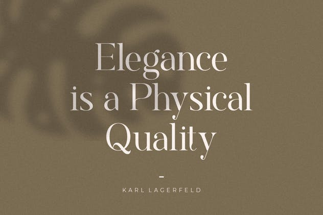 Rostemary Elegant Serif - product preview 4