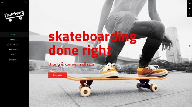 Skate board - Fullscreen Sports Shopify Theme - product preview 5