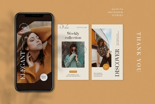 Thumbnail for Outfita - Fashion Instagram Stories Template