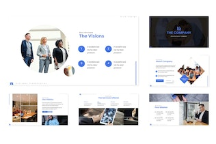 The Company - Powerpoint Template