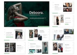 Миниатюра для Debooora | Шаблон Powerpoint