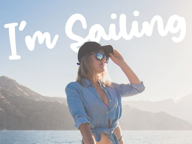 Salty Ocean - Bold Brush Font - product preview 3
