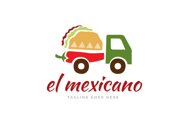 El Mexicano Logo Template - product preview 1