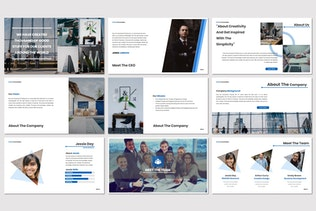 Thumbnail for Clarity - Keynote Template