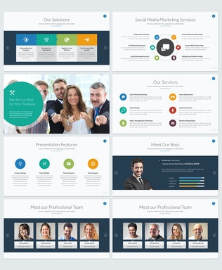 Thumbnail for Boost Business Keynote Template