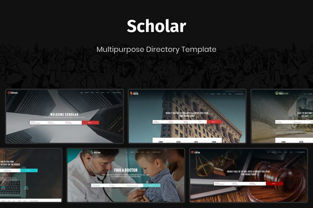 Scholar - Multipurpose Directory Template - product preview 3