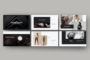 Thumbnail for Consultant - Google Slides Minimalis Creative
