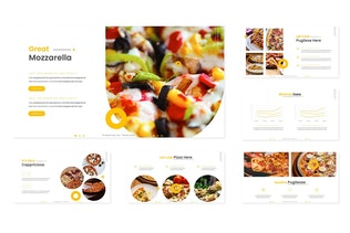 Thumbnail for Foodezz - Google Slide Template
