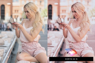 Thumbnail for 50 Sweet Pink Lightroom Presets LUTs
