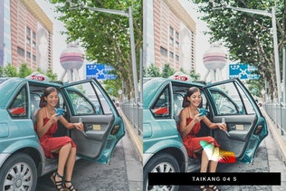 Thumbnail for 50 Shanghai Lightroom Presets and LUTs