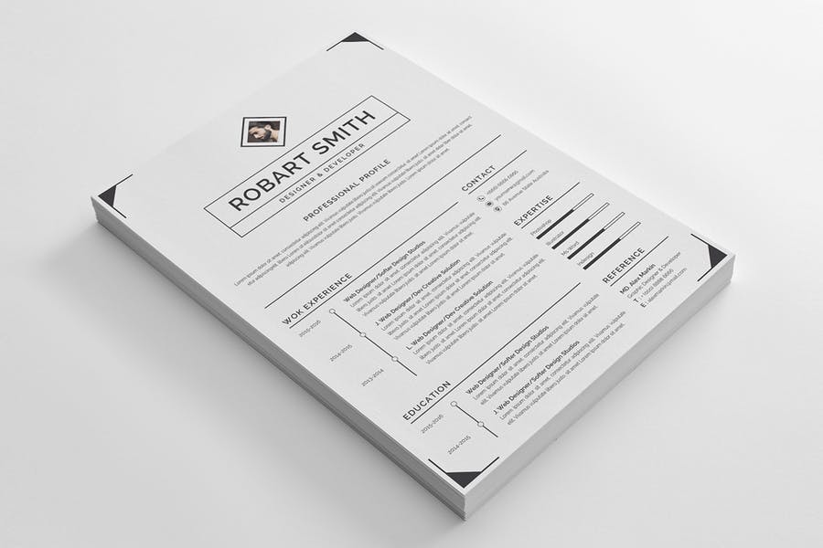 Resume Template 96 - product preview 1